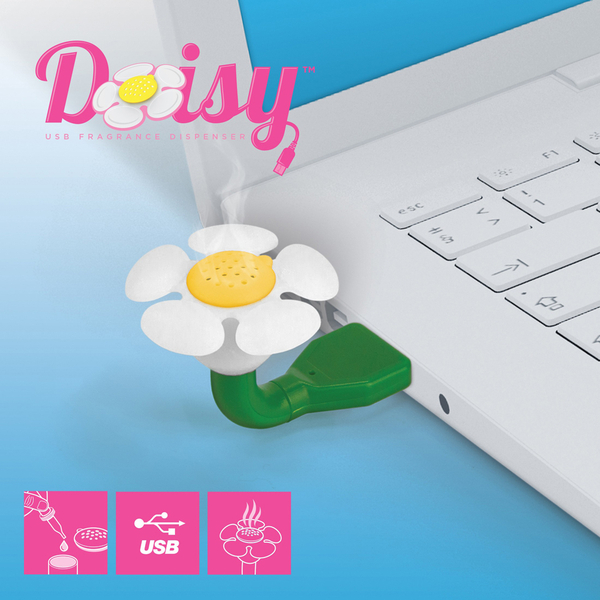 Daisy USB Fragrance Oil Dispenser