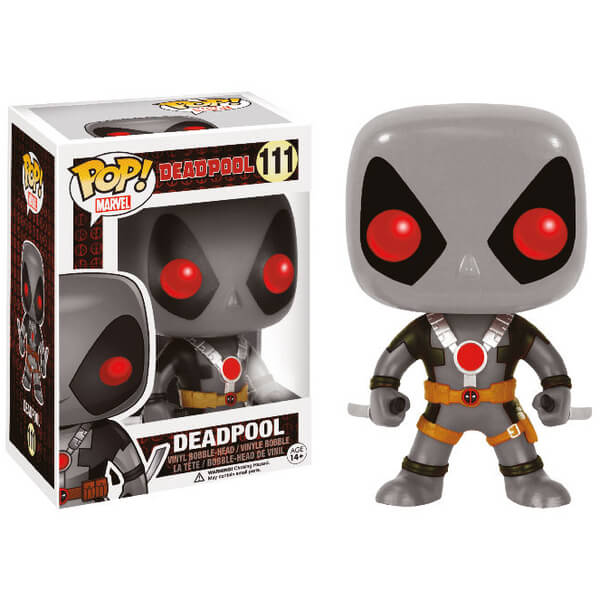 Marvel Deadpool with Sword X-Force Exclusive Pop! Vinyl Figure