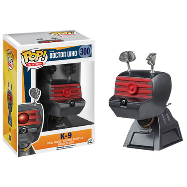 Doctor Who K-9 Pop! Vinyl Figure