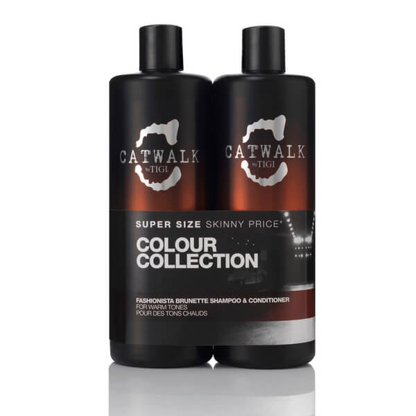 TIGI CATWALK FASHIONISTA BRUNETTE TWEEN DUO (2X750ML)