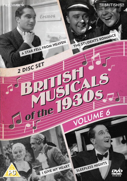 British Musicals of the 1930s Vol. 6 (Facing the Music/Sleepless Nights/A Star Fell from Heaven/The Student's Romance)