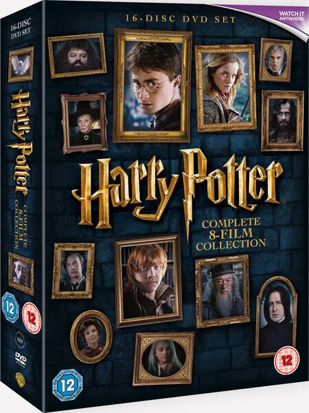 harry potter film box