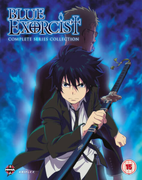 Blue Exorcist: The Complete Series Collection (Episodes 1-25 & OVA)