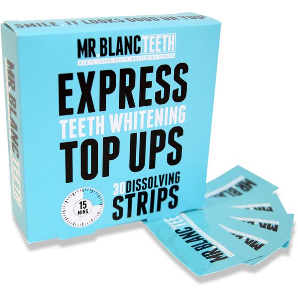 Mr Blanc ExpressZahnweißstreifen30 Streifen