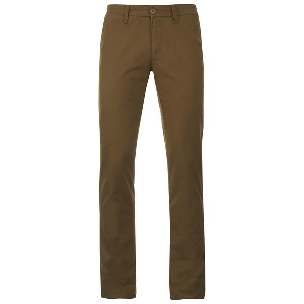 Carhartt Men's Sid Slim Leg Chinos - Leather Rinsed