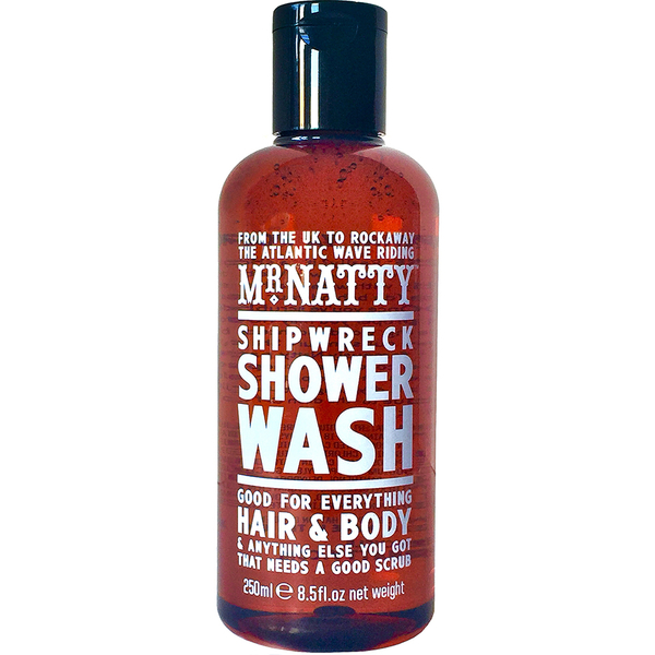 Mr Natty Shipwreck Shower Wash 100ml (Grooming Box)