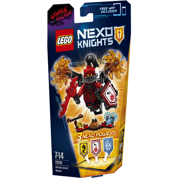 LEGO Nexo Knights: Ultimate General Magmar (70338)