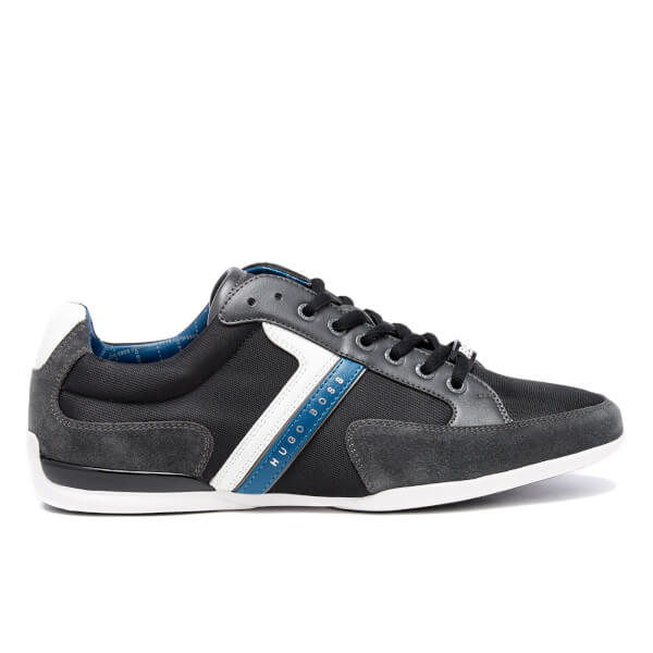 BOSS Green Men's Spacit Trainers - Charcoal