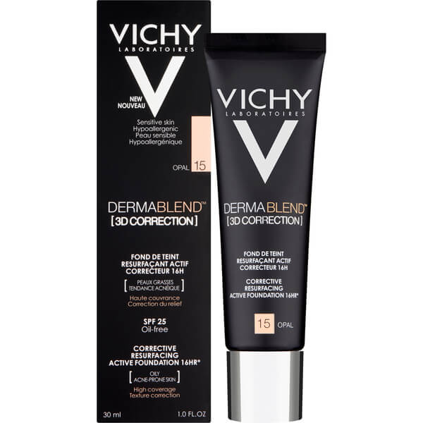 Foundation 3D Correction Dermablend Vichy 30 ml