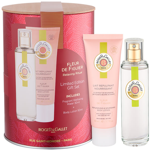 Roger&Gallet Fleur de Figuier Fresh Fragrant Water Spray Coffret 30ml