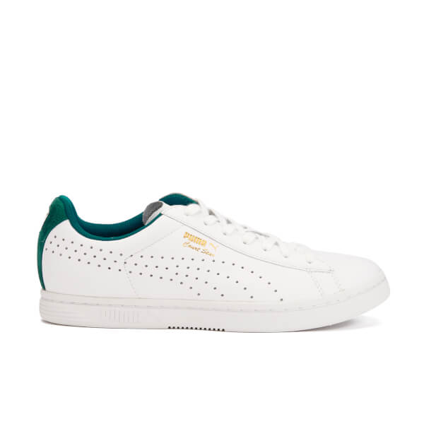 Puma Men's Court Star Crafted Trainers - White/Storm