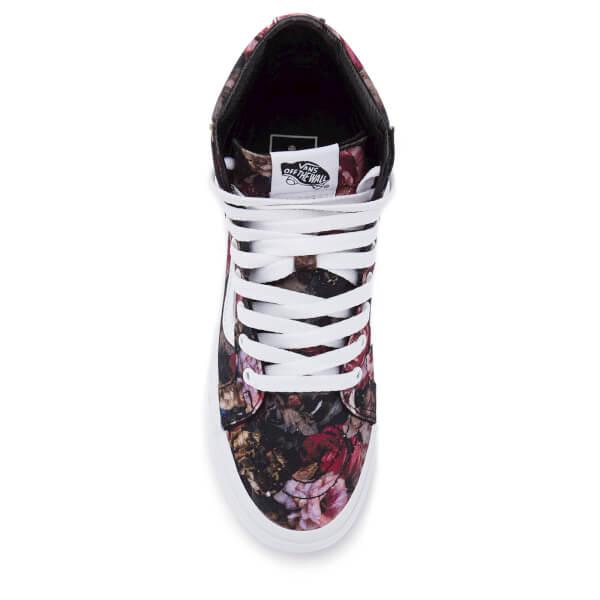 1085ebe0834e Vans Women s Sk8-Hi Floral Trainers - Moody Floral Black True White ...