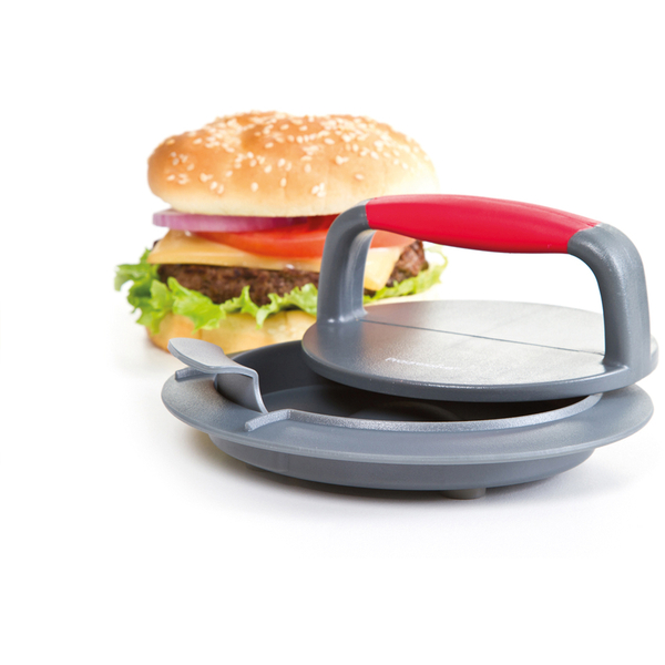Progressive Perfect Burger Press - Grey/Red
