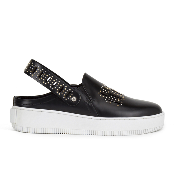 McQ Alexander McQueen Women's Netil Studded Slip-On Trainers - Black