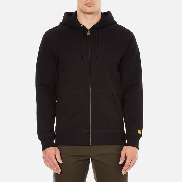 Carhartt Men's Hooded Chase Jacket - Black/Gold
