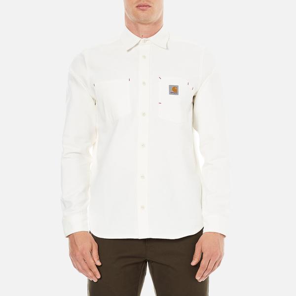 Carhartt Men's Long Sleeve Tony Shirt - Snow Rigid