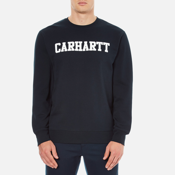 Carhartt Men's College Sweatshirt - Navy/White