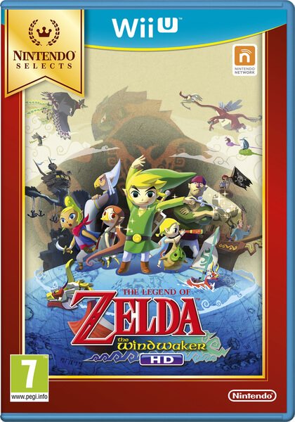 Nintendo Selects La Légende de Zelda: Wind Waker HD