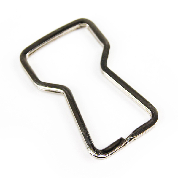 Split-Ring Bottle Opener - Silver