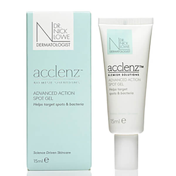 Dr. Nick Lowe acclenz Advanced Action Spot Gel 15ml