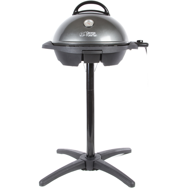George foreman 22460mob outdoor grill barbeque black iwoot - Buy george foreman grill ...