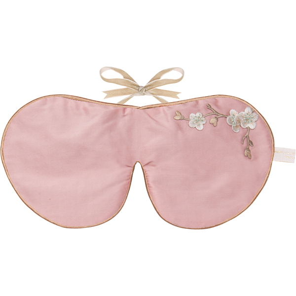 Holistic Silk Lavender Eye Mask - Rose Blossom