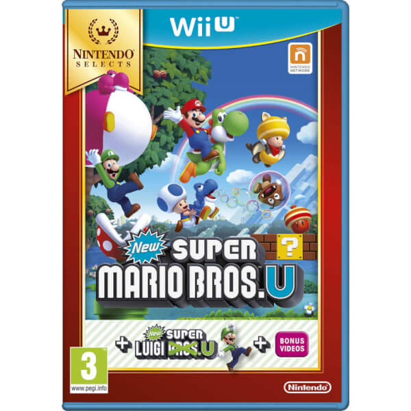 Nintendo Selects New Super Mario Bros. U + New Super Luigi U