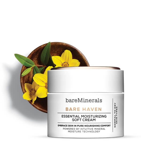 Crema Hidratante Suave Bare Haven Essential de bareMinerals 50 ml