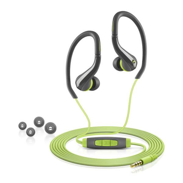 Sennheiser OCX 684i Sports Earphones Inc In-Line Remote and Mic (Apple) - Green