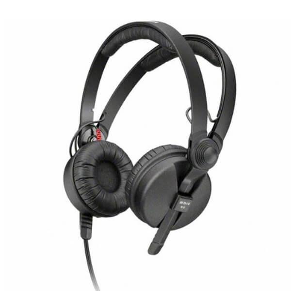 Sennheiser HD 25-1-II Basic Edition On-Ear Closed DJ Headphones - Black
