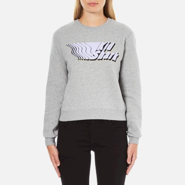 Carven Women's Kid Shark Sweatshirt - Grey