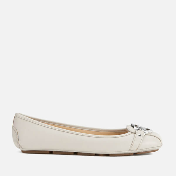 MICHAEL MICHAEL KORS Women's Fulton Leather Moc Pumps - Cement