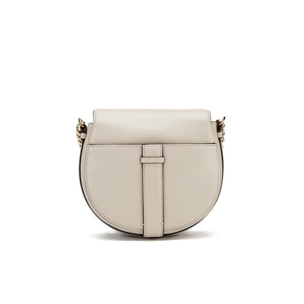 1dca2d38946 Karl Lagerfeld Women s K Chain Small Shoulder Bag - Cream  Image 6