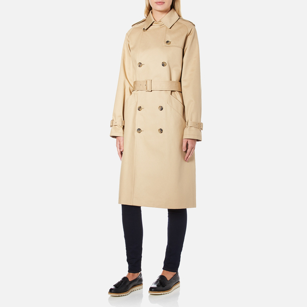 A.P.C. Women s Trench Coat - Beige - Free UK Delivery over £50 59b9c6c983