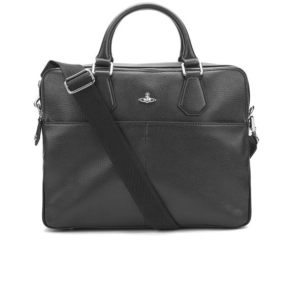 Vivienne Westwood Men's Milano Computer Bag - Black