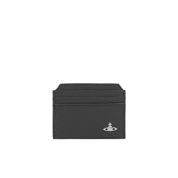 Vivienne Westwood Men's Milano Credit Card Holder - Black