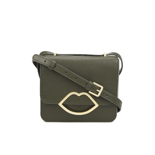 Lulu Guinness Women's Marcie Medium Crossbody Bag - Dark Sage