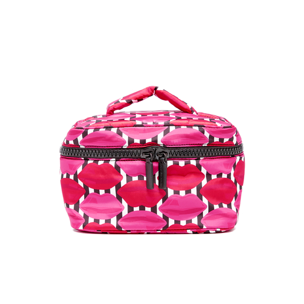 Lulu Guinness Women's Lips Vanity Case - Multi