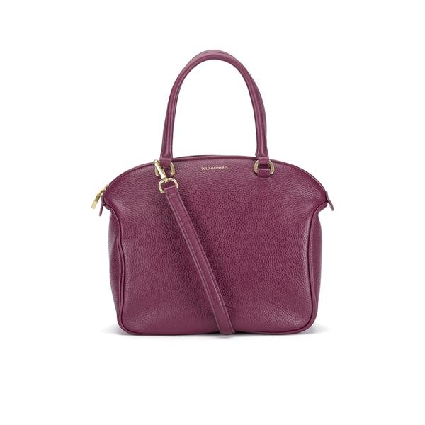 Lulu Guinness Women's Bella Medium Tote Bag - Cassis
