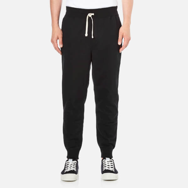 Polo Ralph Lauren男式罗纹袖口裤子- Polo黑色