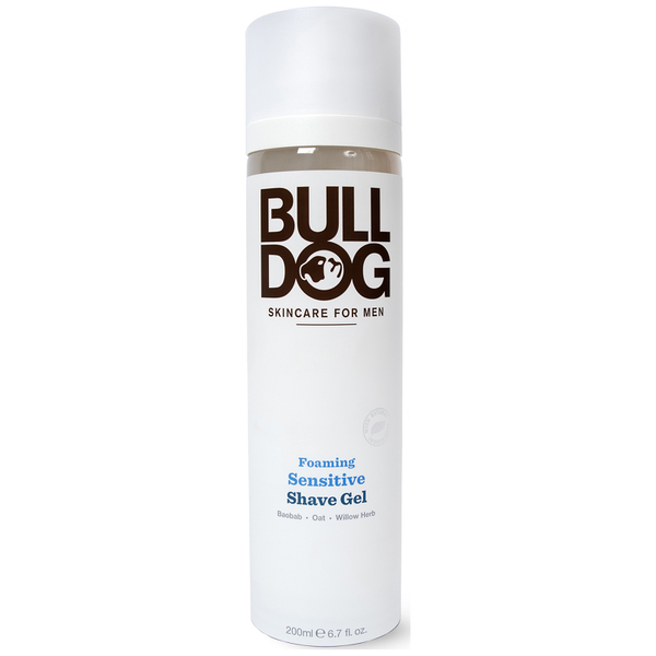 Bulldog Foaming Sensitive Shave Gel 200ml