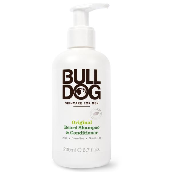 Acondicionador y Champú para Barba 2-en-1 de Bulldog Original 200 ml
