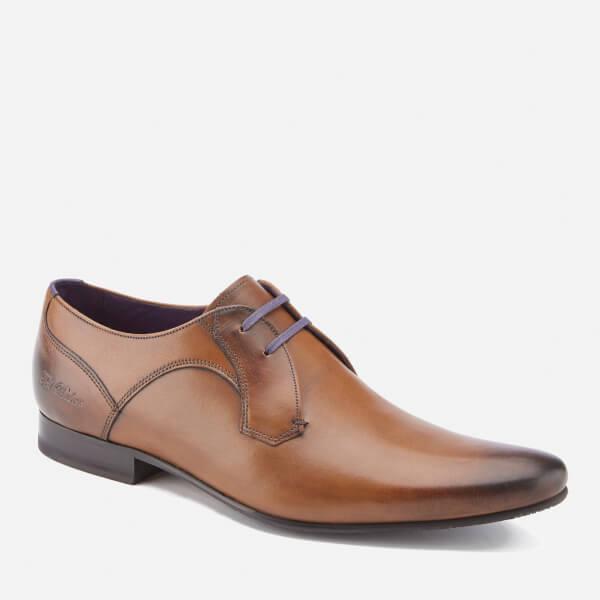 Men Ted Baker Marrt 2 Leather Derby Shoes Brown 781902