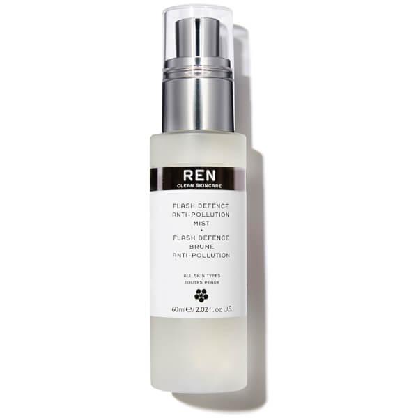 Spray Flash Defence anti-contaminación de REN (60 ml)