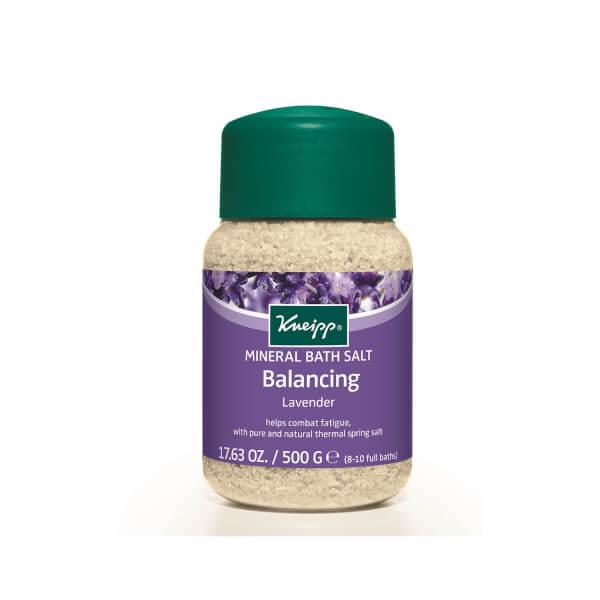 Sels de bain Équilibre à la lavande de Kneipp (500 g)