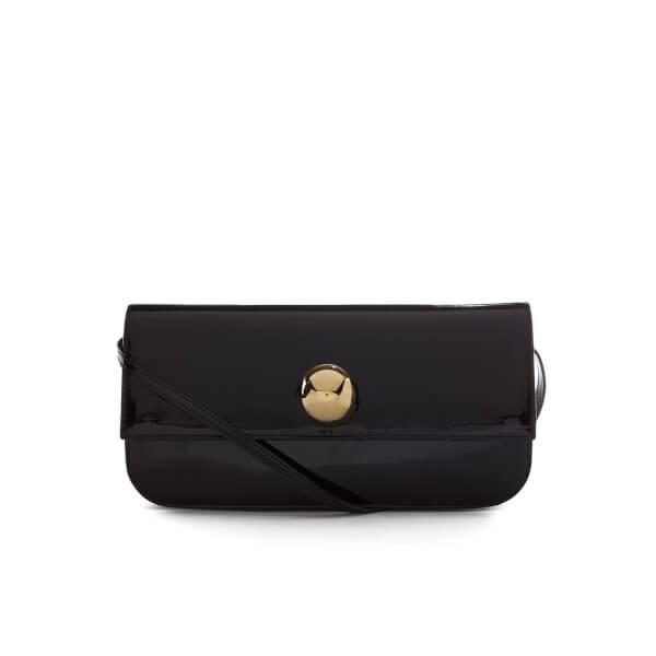 Vivienne Westwood Women's Mirror Ball Clutch Bag with Shoulder Strap - Black