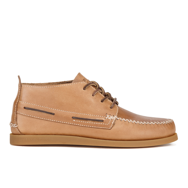 Sperry Men's A/O Wedge Leather Chukka Boots - Sahara