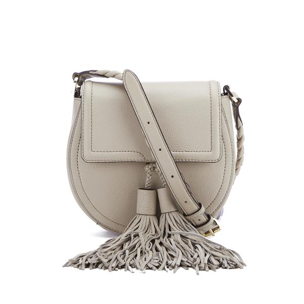 Rebecca Minkoff Women's Isobel Tassel Saddle Crossbody Bag - Khaki