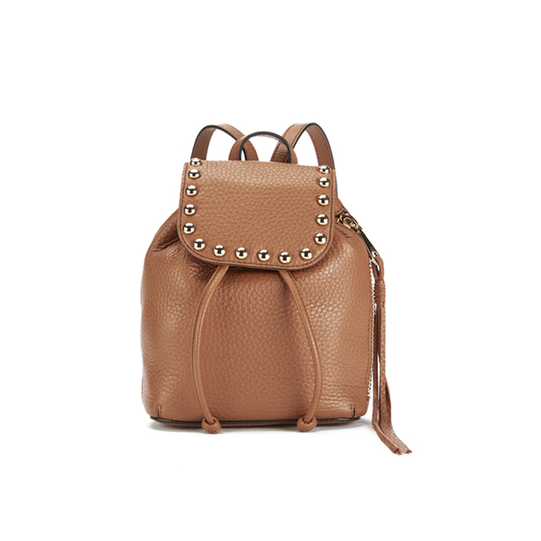 Rebecca Minkoff Women's Micro Unlined Backpack - Almond