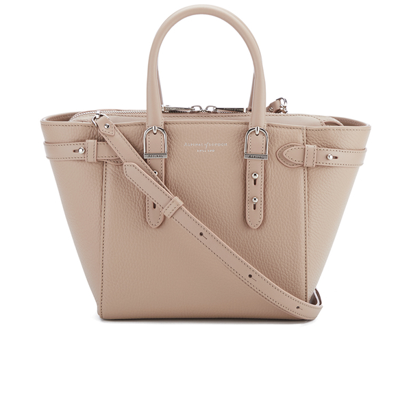 Aspinal of London Women's Marylebone Mini Tote - Soft Taupe